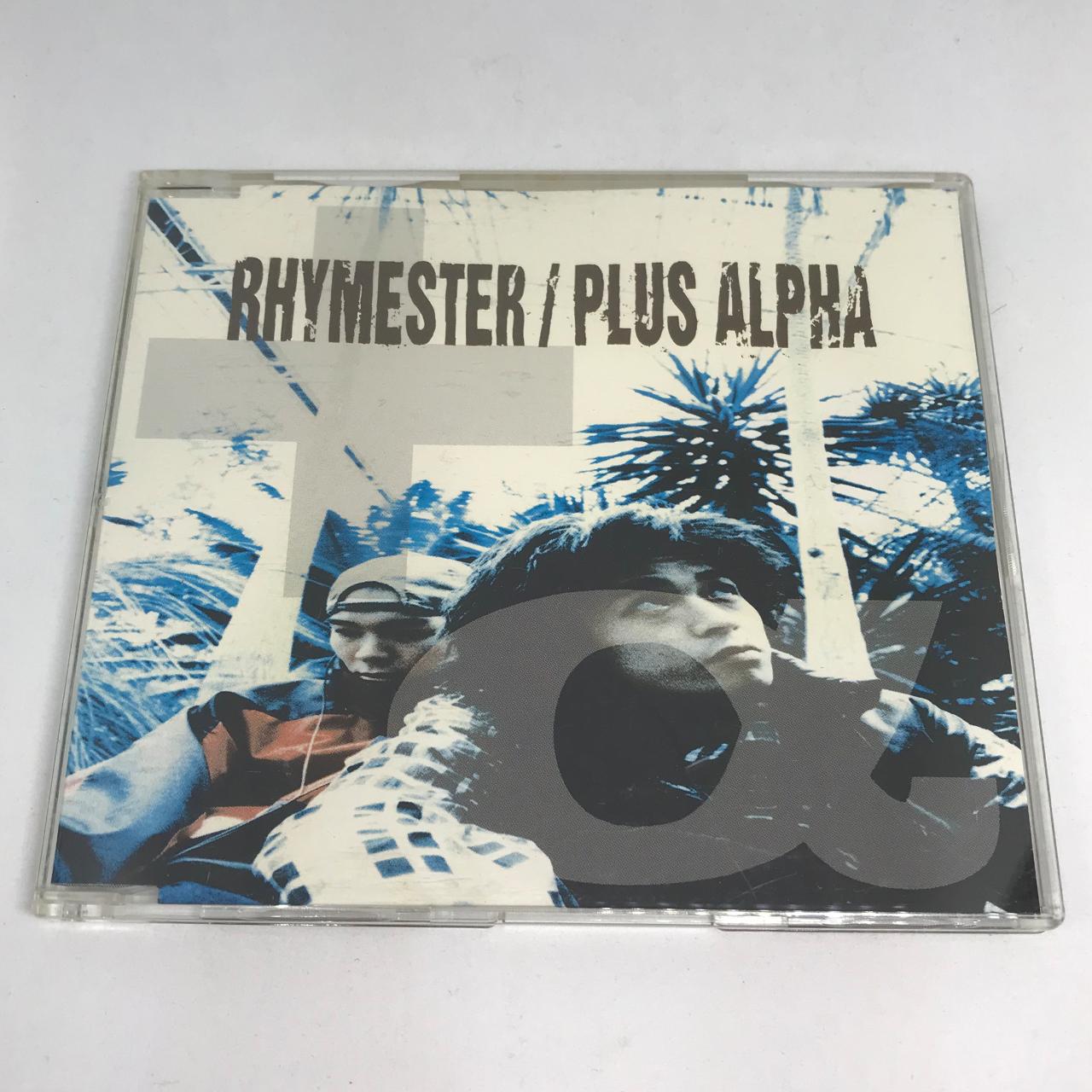 RHYMESTER / PLUS ALPHA