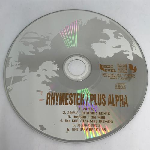 RHYMESTER / PLUS ALPHA CD