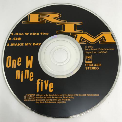 RIM / One W nine five CD
