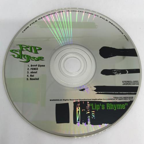 RIP SLYME / Lip's Rhyme CD