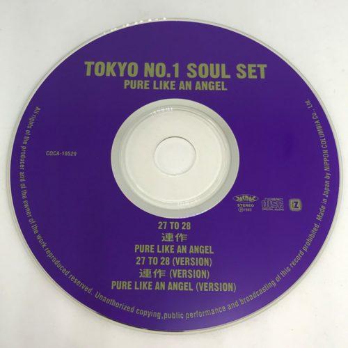 TOKYO No.1 SOUL SET / PURE LIKE AN ANGEL CD