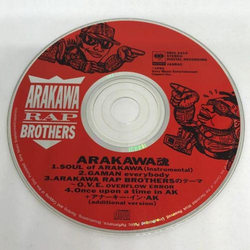 ARAKAWA RAP BROTHERS / ARAKAWA魂 CD