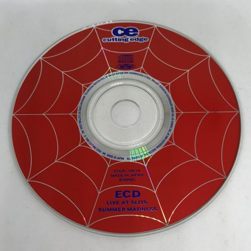 ECD / SUMMER MADNESS~LIVE AT SLITS CD
