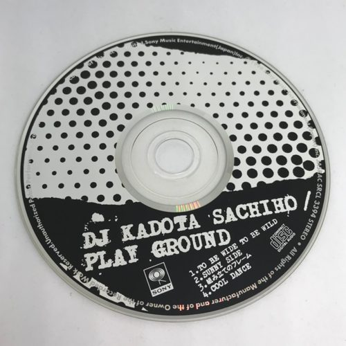 DJ SACHIHO / PLAY GROUND CD