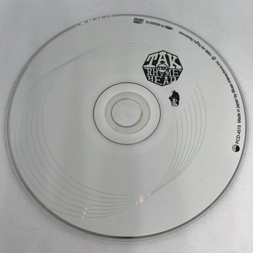 T.A.K.THE RHYMEHEAD / The Words CD