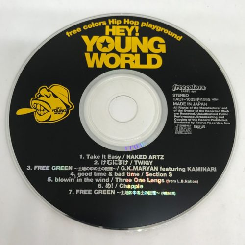 HEY!YOUNG WORLD CD