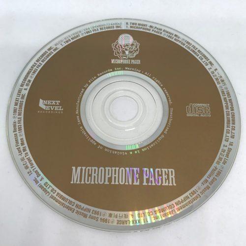 MICROPHONE PAGER / MICROPHONE PAGER CD