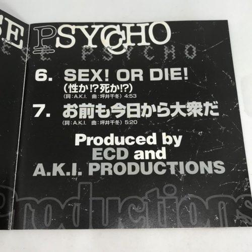 A.K.I.PRODUCTIONS / JAPANESE PSYCHO 曲