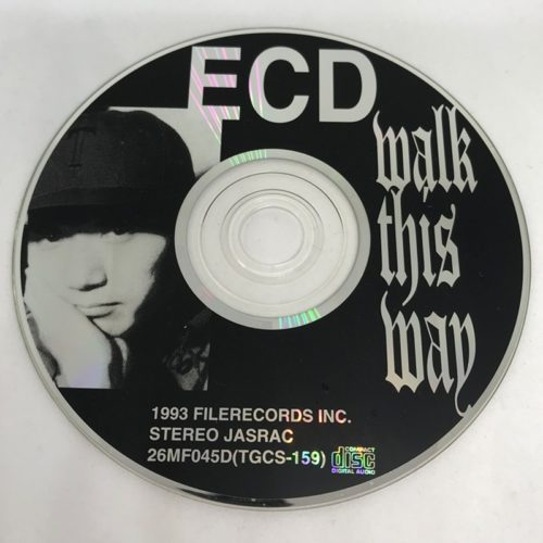 ECD / WALK THIS WAY CD