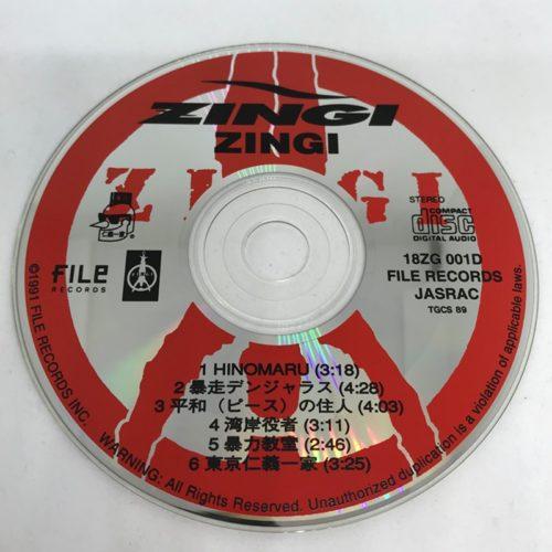 ZINGI / ZINGI CD