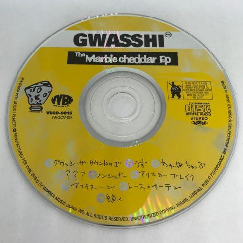 GWASHI / The Marble Cheddar Ep CD