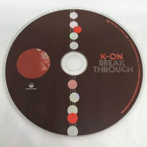 K-ON / Break Through CD