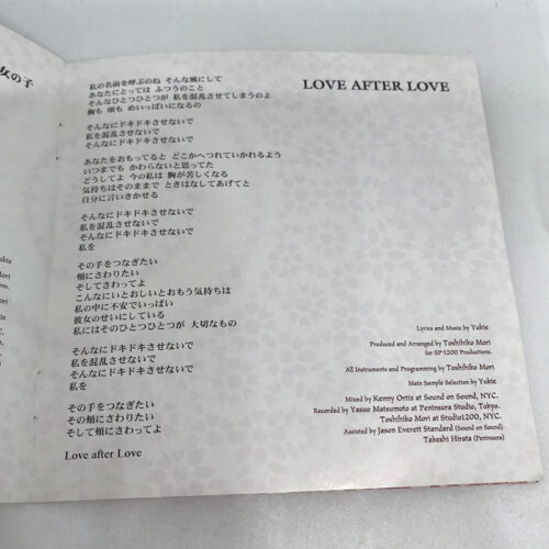 Love After Love 歌詞