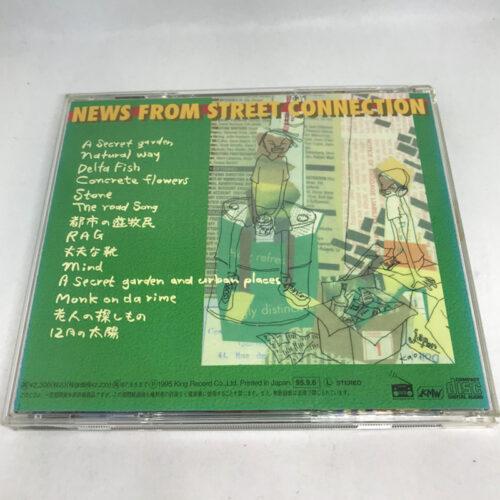 News From Street Connection / A Secret Garden 裏