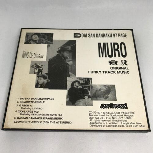 MURO / DAI SAN DANRAKU 97 PAGE 裏