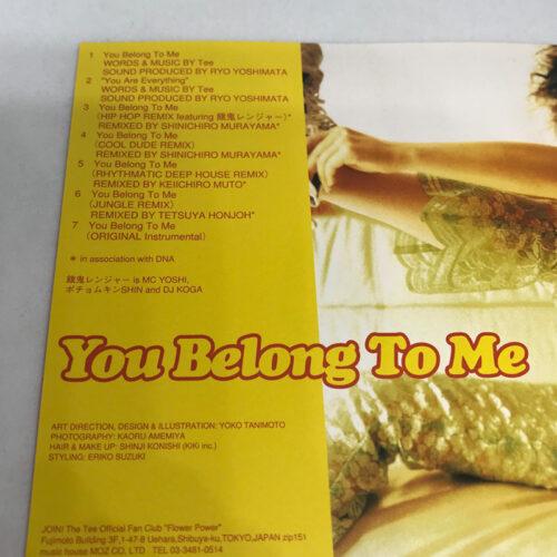 Tee / You Belong To Me 曲