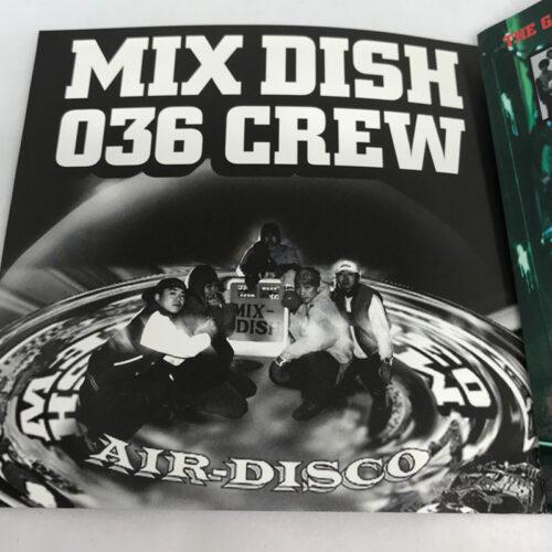 MIX DISH 036 CREW / AIR DISCO 写真